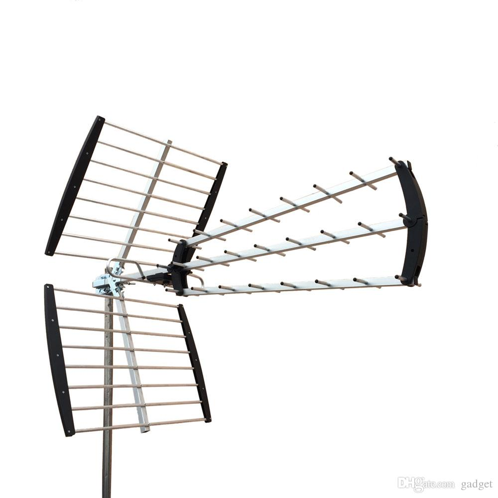 180 Mile HDTV Outdoor Amplified HD TV Antenna Digital UHF