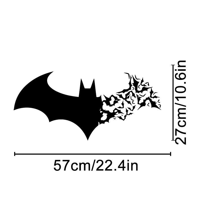 bat living room simple false ceiling designs for batman vinyl wall decal home decor bedroom diy wallpaper removable stickers decals kids rooms nursery from