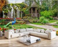 3d Wallpaper Custom Photo Mural Garden Landscape ...