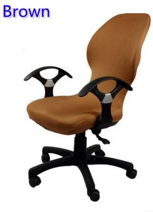 office chair covers to buy leather corner brown colour lycra computer cover fit for with armrest spandex decoration wholesale slipcover sofa couch and