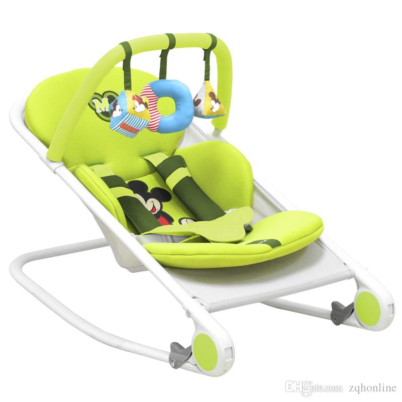 wooden rocking chairs for adults indoor office chair kota kinabalu fashion baby bouncer chairs, multifunctional newborn swing chair, cradle ...
