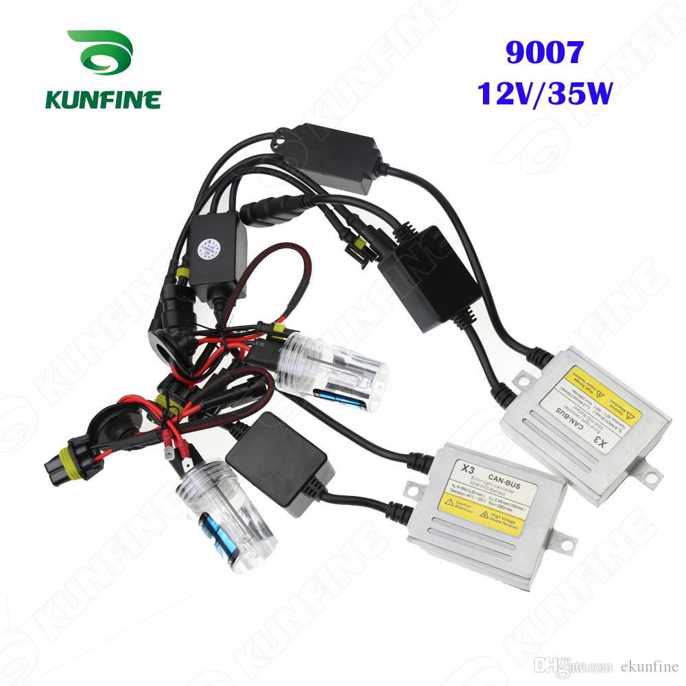 hight resolution of 12v 35w x3 canbus hid conversion xenon kit 9007 xenon bulb car hid 9007 lamps 9007 hid wiring lights