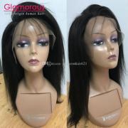 glamorous virgin human hair wigs