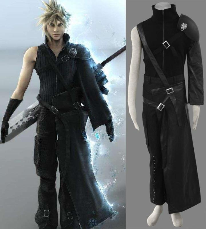 cloud final fantasy halloween costume wallsviews co