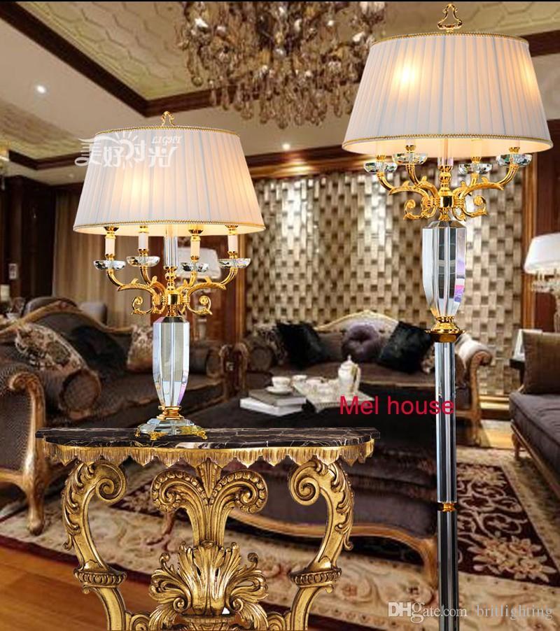 acheter lampe de sol en cristal de luxe pour salon lampadaires decoratifs lampe de sol industrielle debout led chambre salon de beaute culb lumineux en