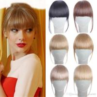 fake hair products 6 20g clip in bangs fake hair extension ...
