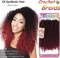 2018 Freetress Braids Pre Looped Wand Curl Crochet Hair