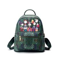 Fairy Forest PU Backpack Style Girls Fashion Designer ...