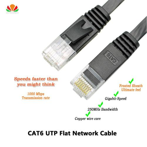 small resolution of wholesale 6ft 2m cat6 ethernet cable flat utp cat6 network cable gigabit ethernet patch cord rj45 network twisted pair lan cable for gige network cables and
