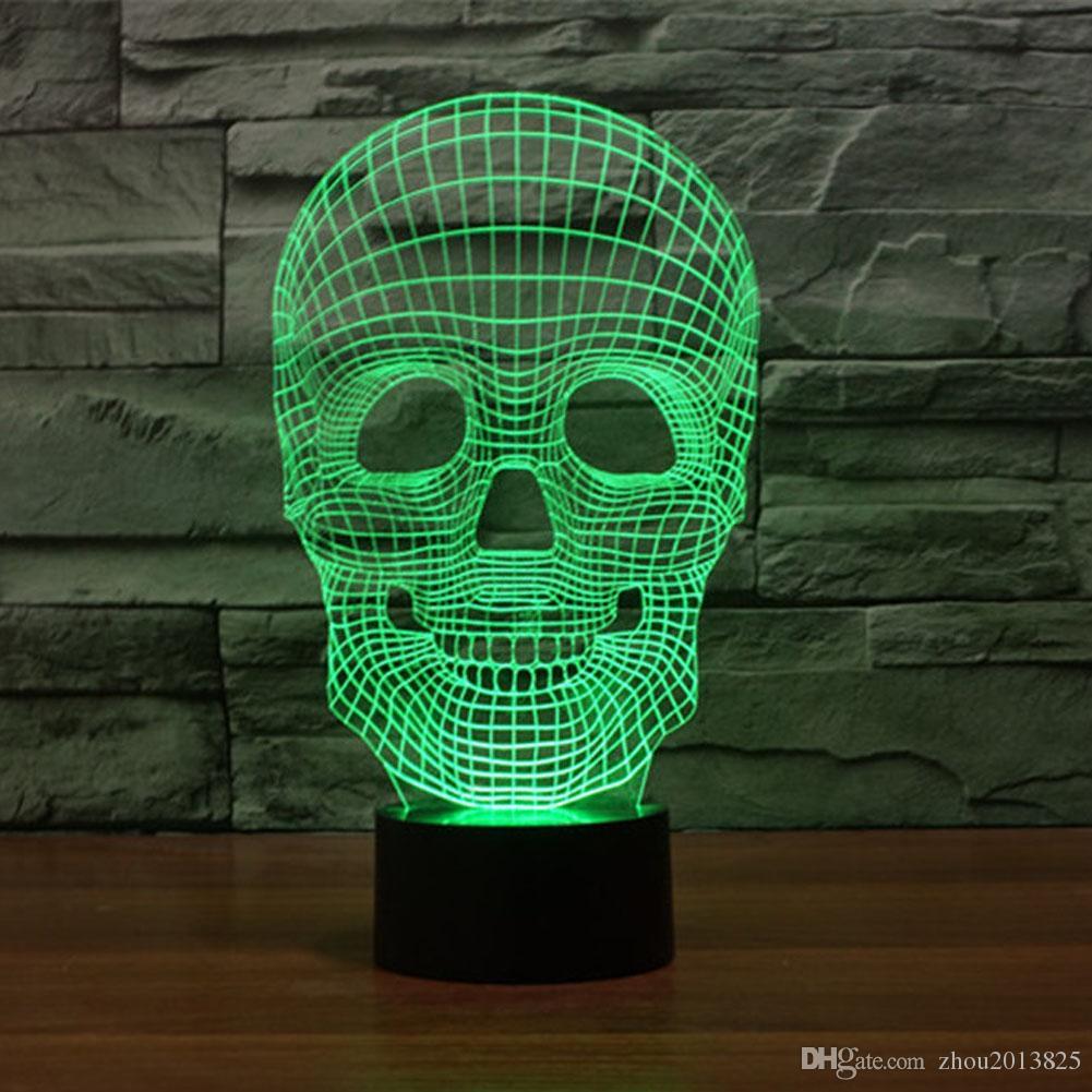 creative design skull heads