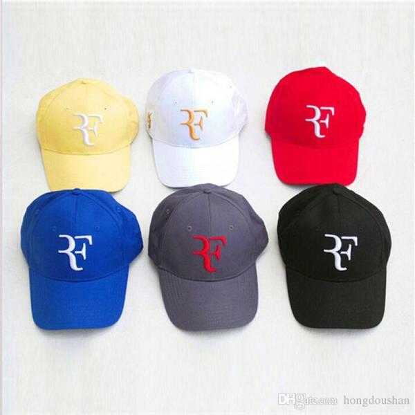 Roger Federer Cap Tennis Hat With Black Red