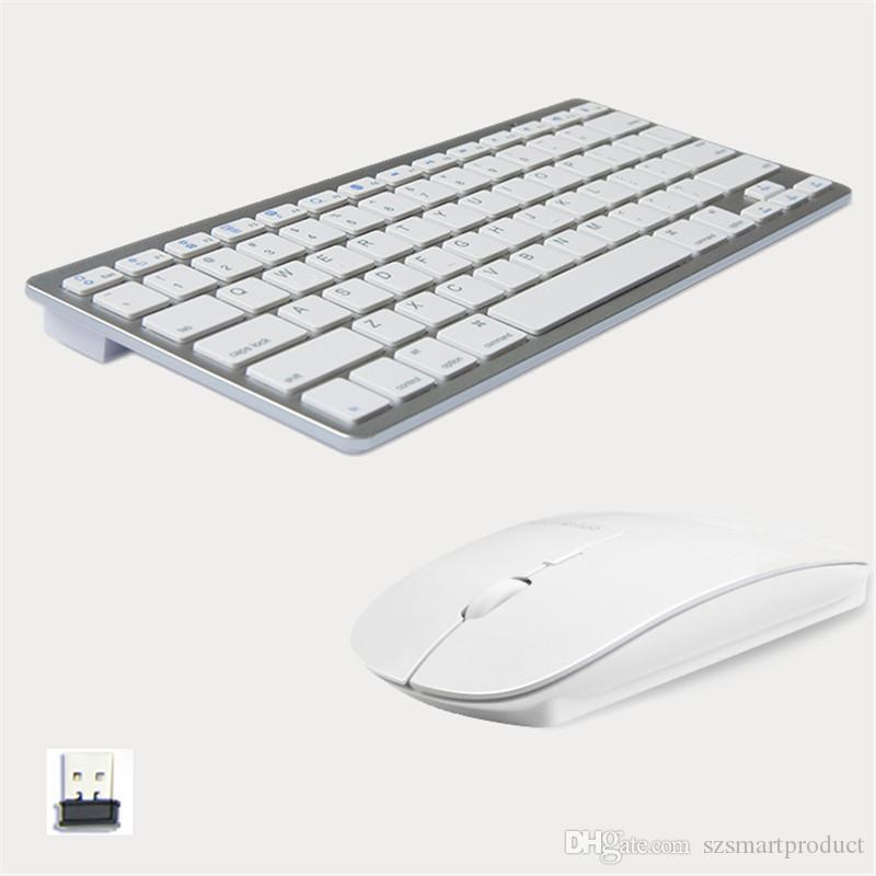 Fashionable Design 2.4g Ultra Slim Wireless Keyboard And