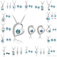 Online Cheap Bridesmaid Jewelry Set Wedding Earring ...