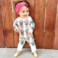Toddler Infant Baby Rompers Ice Cream Bottle Jumpsuits ...