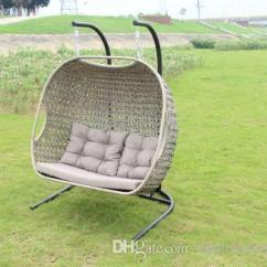 Hanging Chair Double Plastic Garden Chairs And Table 2019 Seat Rattan Rocking Hangingchair Wicker Swing Outdoor From Outdoorfurniture315
