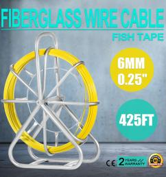 2019 vevor fish tape fiberglass 6mm 425ft duct rodder fish tape continuous fiberglass wire cable running with cage and wheel stand 425ft from sihao  [ 1600 x 1600 Pixel ]