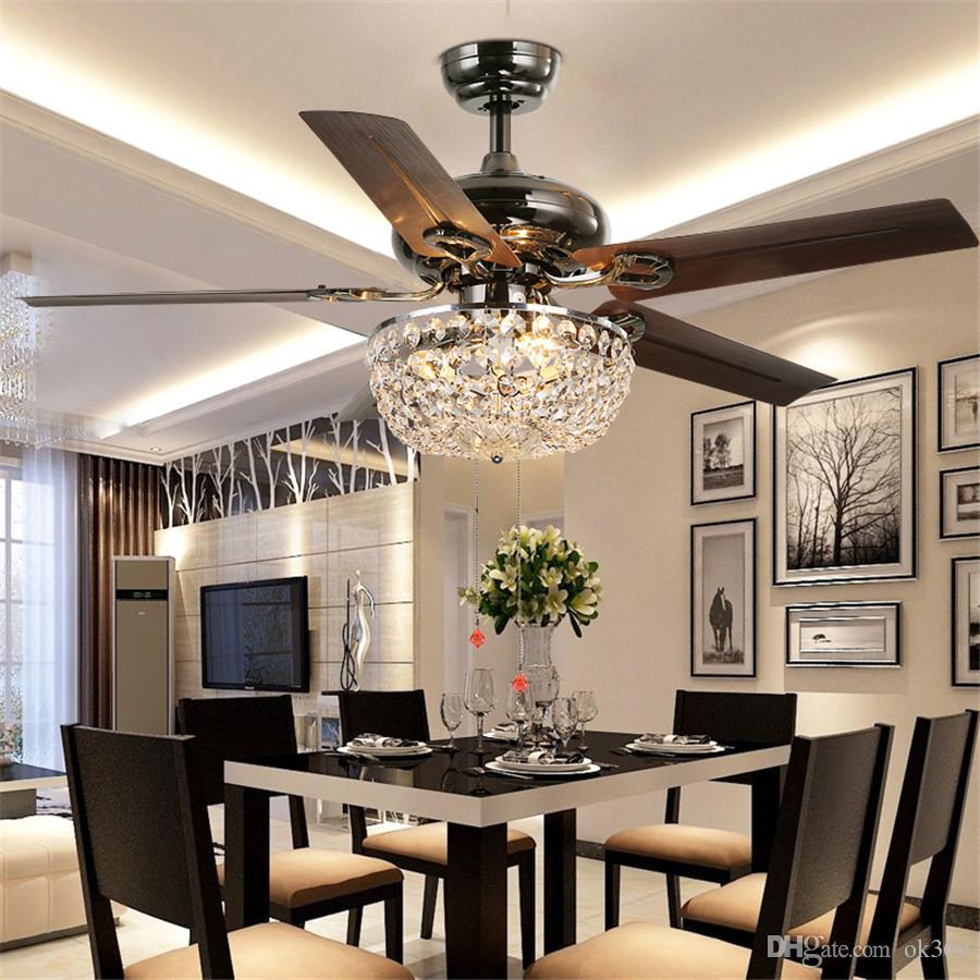 Dining Room Ceiling Fan Chandelier