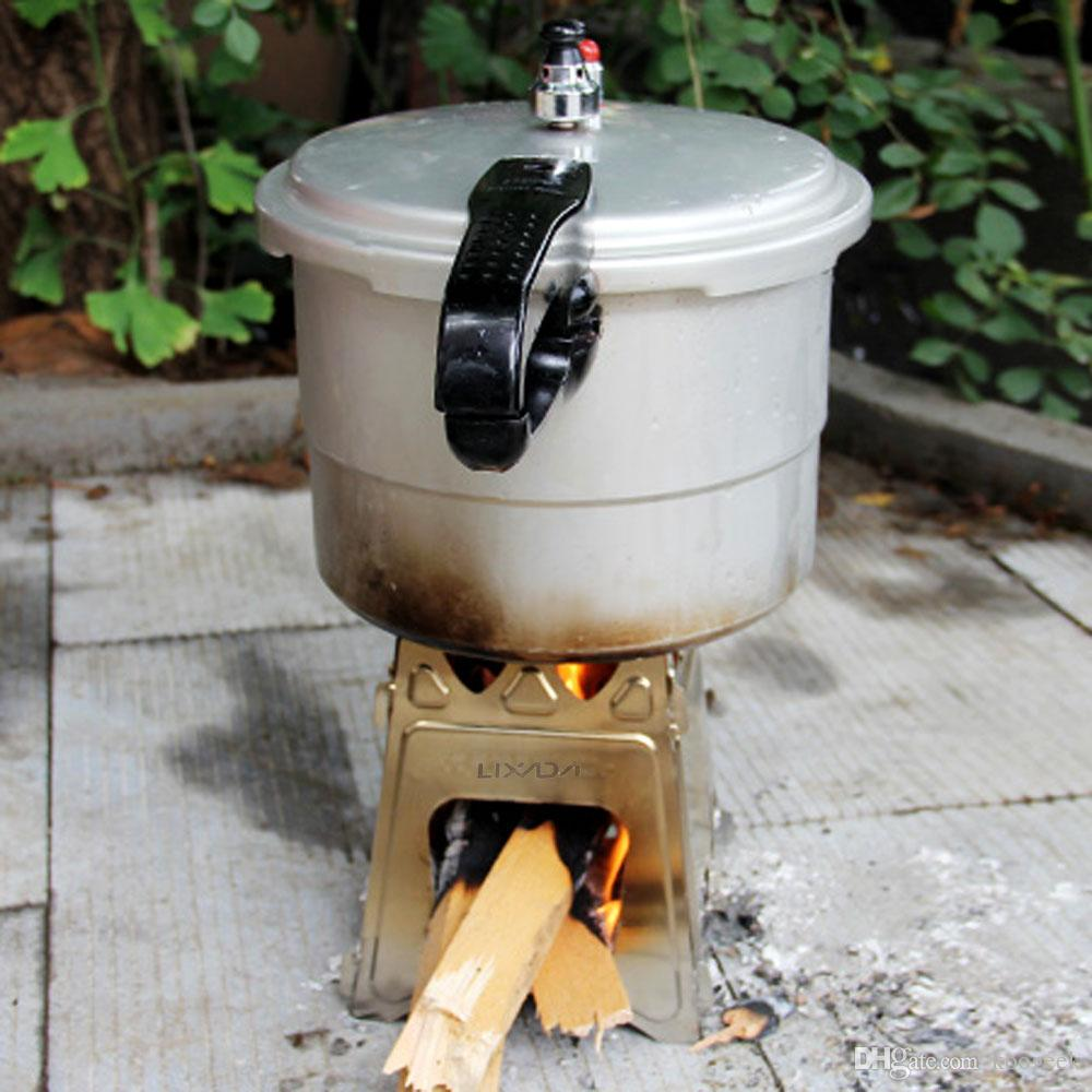 Stove Burning Portable Wood