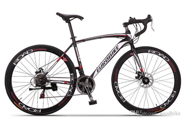 XC550 Road Bike 21 Speed Bicycle EUROBIKE 700C Steel Bike