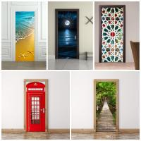 3d Wall Stickers Imitate Mural Painting Living Room ...