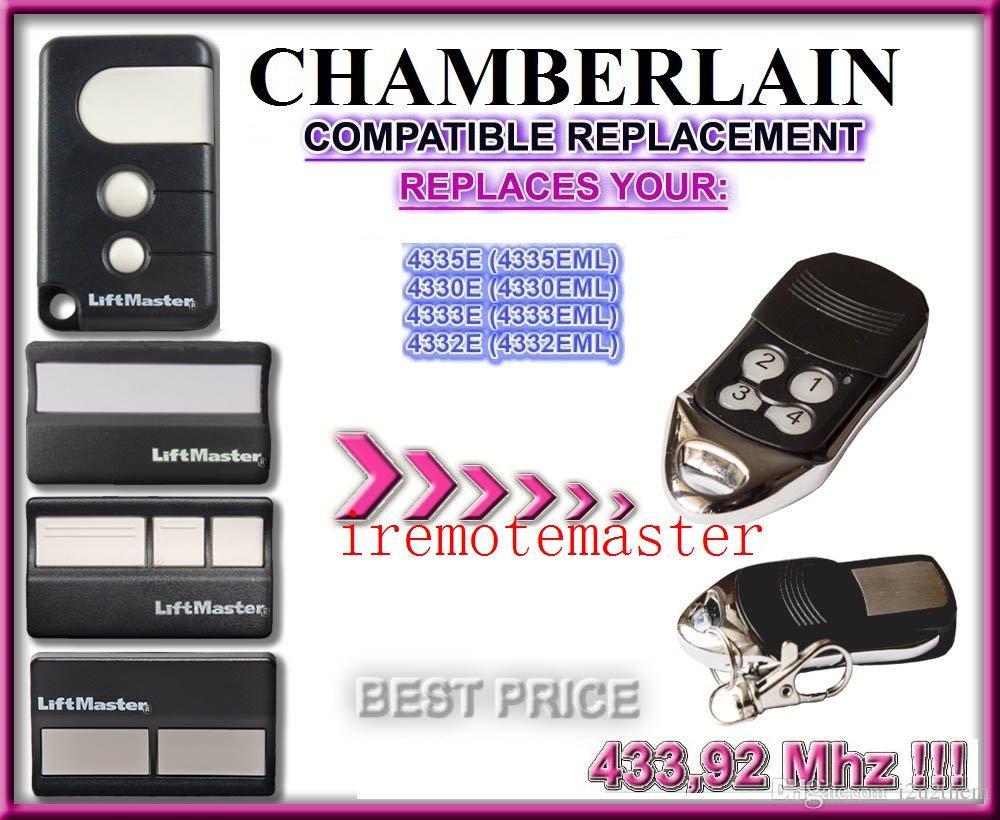 medium resolution of garage door remote for chamberlain 4330e 4330eml 4332e 4332eml 4333e 4333eml 4335e 4335eml replacement garage door remote lock locksmith lock opener tool