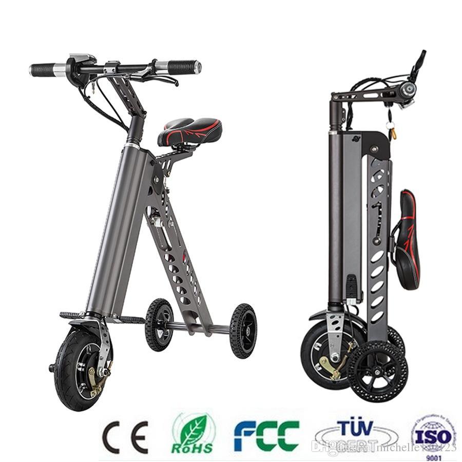 2019 Mini Folding Scooter E Bike Portable Foldable