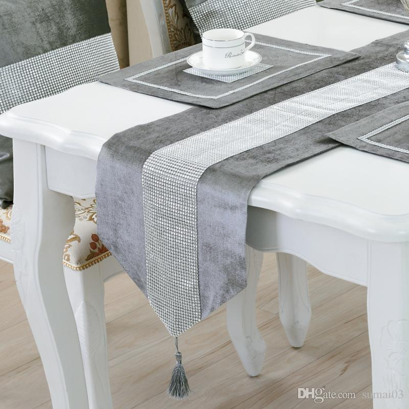 sofa table runners how to diy bz366 modern runner flannel diamond marriage cheap sew best tables
