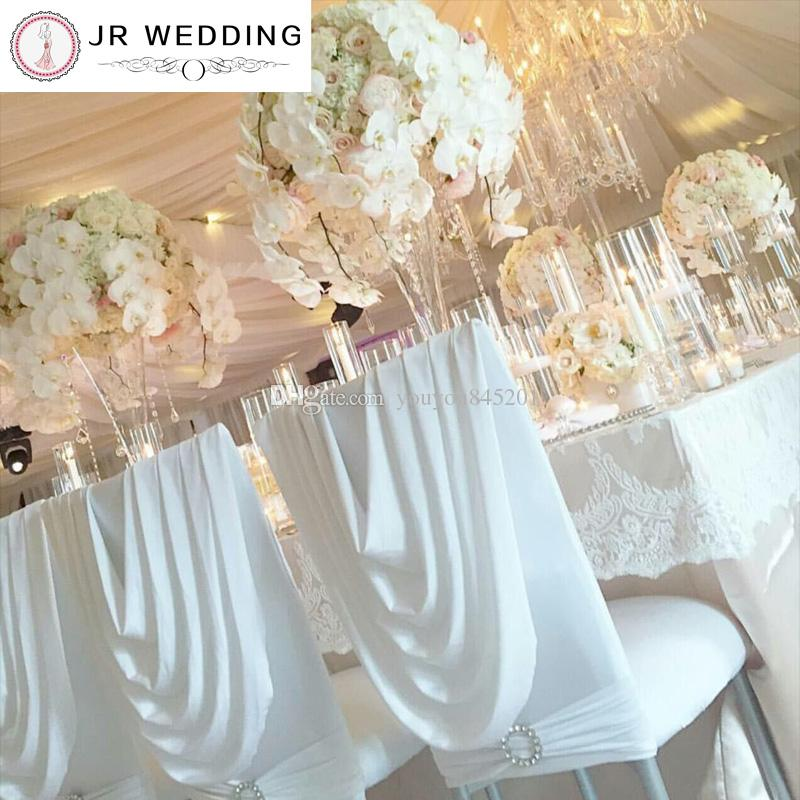 Spandex Chiavari Chair Cover With Valance At Back Lycra