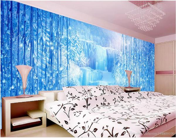 Mural 3d Wallpaper Wall Papers Tv Backdrop Fashion