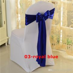 Royal Blue Chair Covers Soccer Ball Satin Sash Used For Wedding Spandex Cover Gold Bridal Dress With Belt From Yaoxun5825 21 46 Dhgate Com