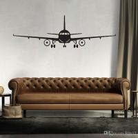 3d Airplane Wall Stickers Muraux Wall Decor Airplane Wall ...