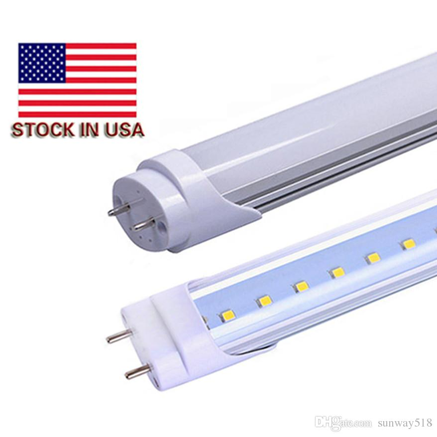 stock in usa 4ft t8 led tube lights 18w 20w 22w smd2835 4 feets led - � wiring  diagram