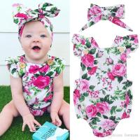 2018 Newborn Baby Clothes Infant Girl Romper Boutique ...