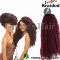Afro Kinky Synthetic Braiding Hair Burgundy 18inch #118 ...