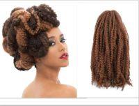 100% Kanekalon Afro Twist Kinky Marley Twist Hair ...