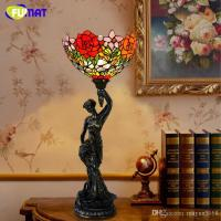 2018 European Style Tiffany Table Lamp Creative Art ...