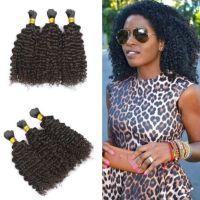 Peruvian Human Braiding Hair Bulk Kinky Curly 8 30 Inch