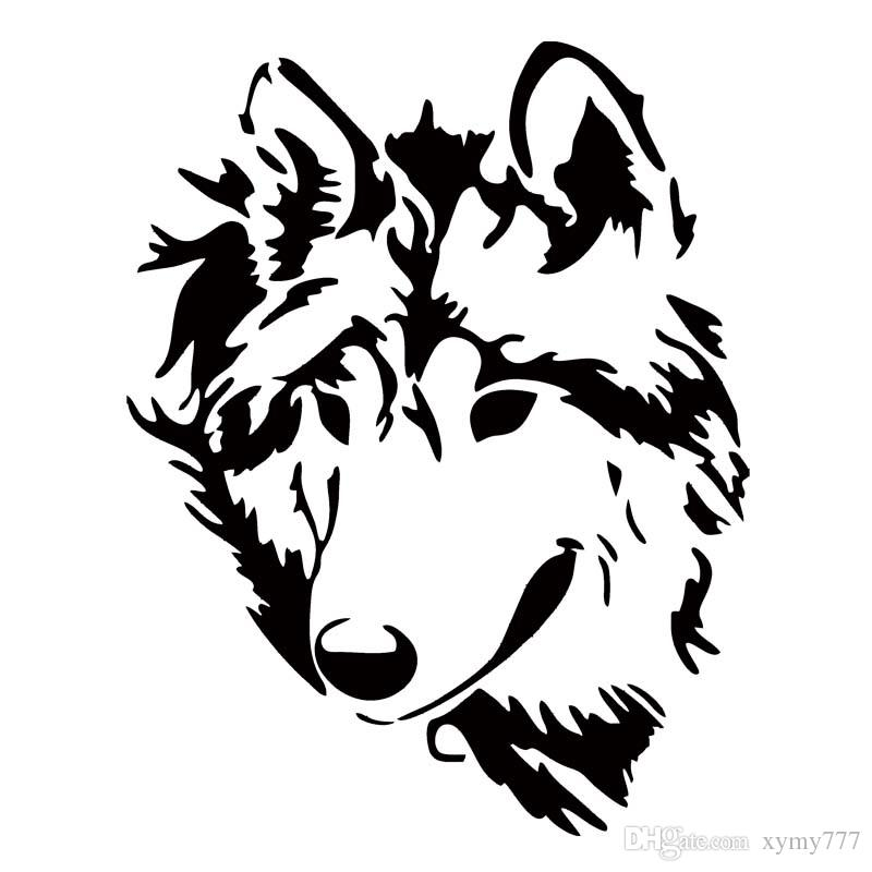 2019 Hot Sale For Tribal Wolf Decal Vinyl Sticker Car