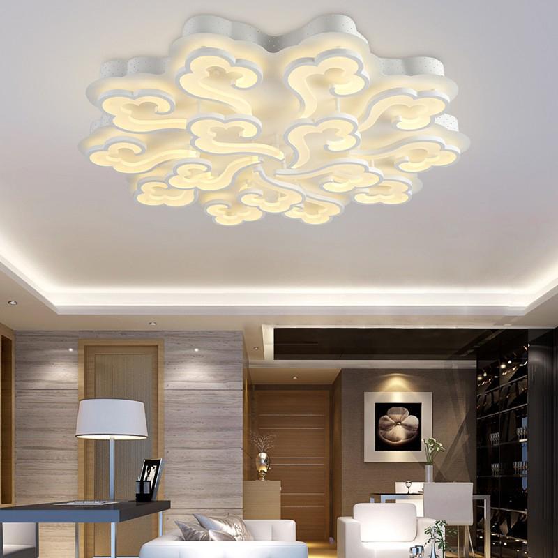 Compre Moderno LED Luces De Techo Para Sala De Estar