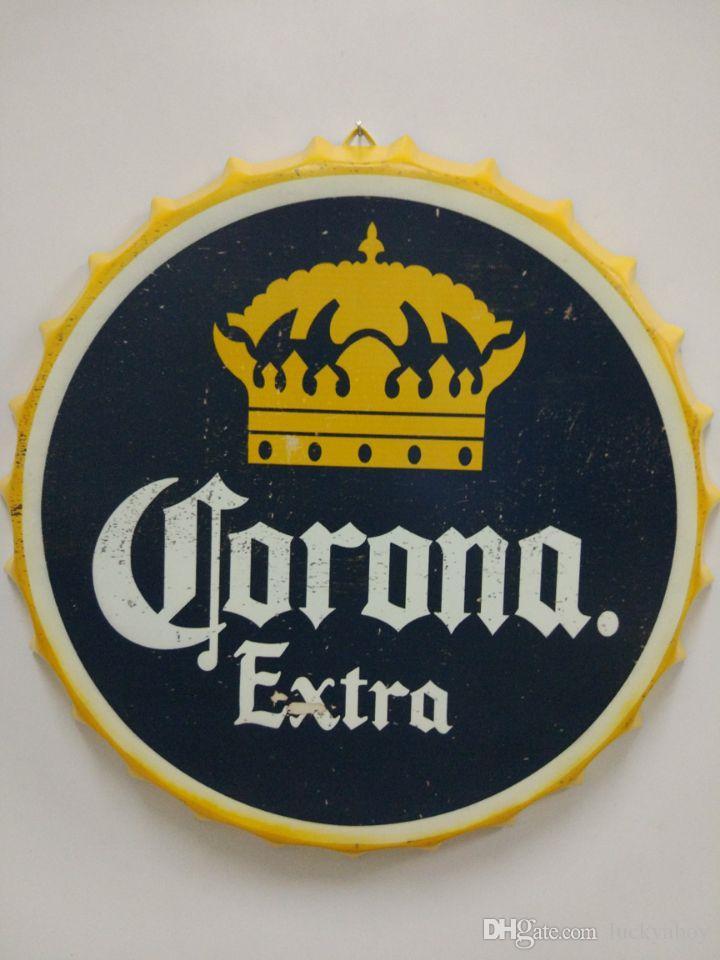 corona extra vintage round