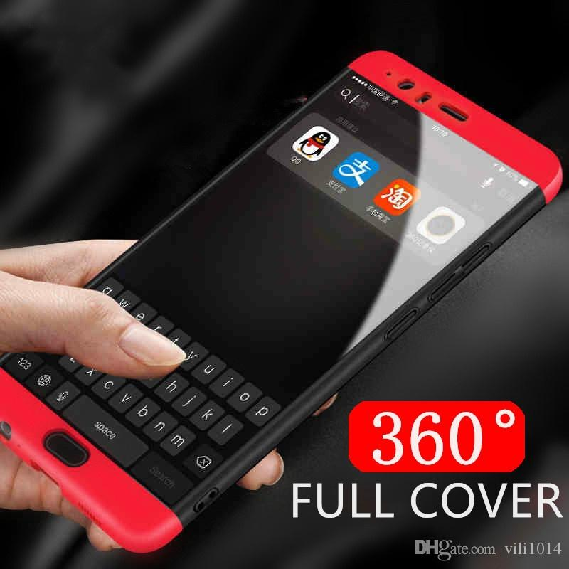 Luxury Protection Cases For Huawei P10 Plus P9 Case 360 Degree Hard Pc Full Body Cover For Honor8 Lite Honor9 Honor 6x Mate9