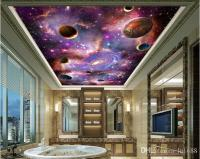 Space Galaxy 3d Ceiling Ceiling Mural Large Mural
