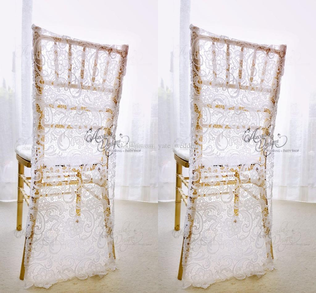 chair covers wedding yorkshire for oversized recliners charming white lace custom made groom