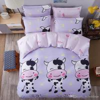 Cute Cow Bedding Sets Cartoon Comforter Set Single Double ...