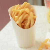 2017 Disposable White Paper French Fries Cup Holder Roast ...
