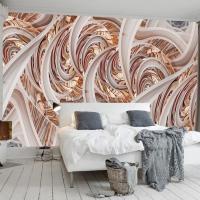 3D Geometry Wall Mural Abstract Lines Wallpaper 3D 5D ...