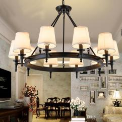 Hanging Light Fixtures Living Room Furniture Design Images Pendant American Country Lights Hang Lamps Chandelier Crystal Simple Iron Dining Bedroom Study Modern