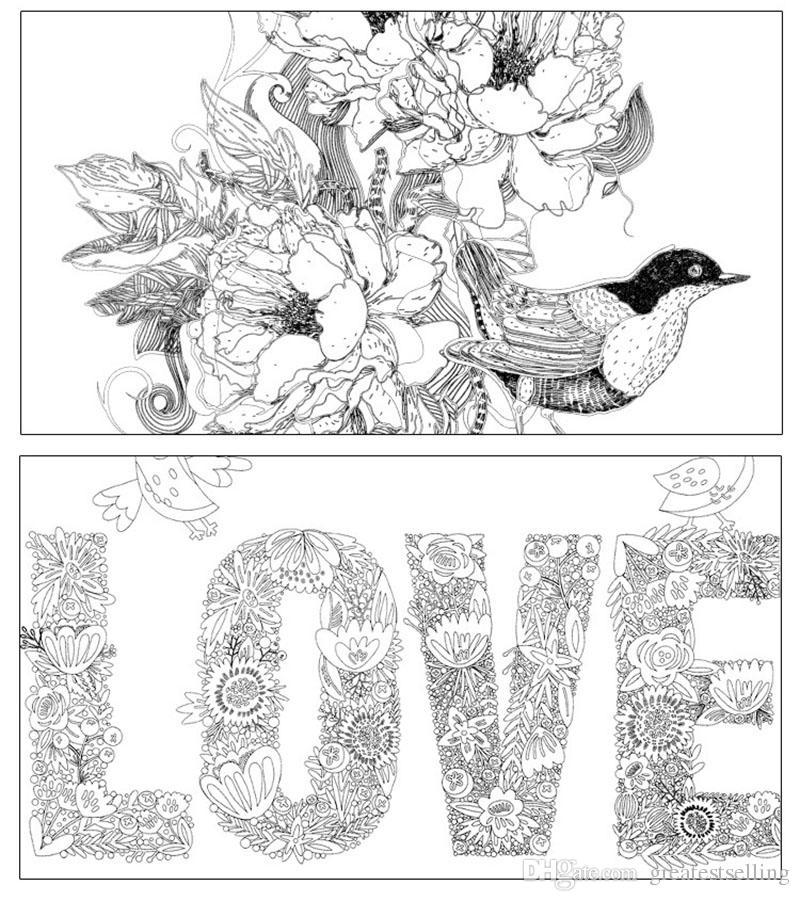 Acheter 1 1dx Décompression Secret Jardin Coloriage Livres