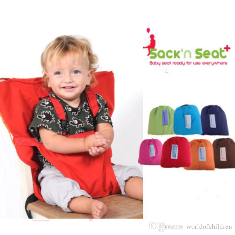 cloth portable high chair tufted office 2019 sack n seat travel booster baby harness washable packable for infants and toddlers from worldofchildren
