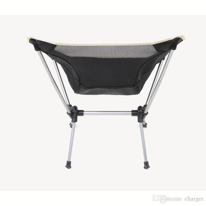 folding chair nylon swing ceiling hook convenient black breathable comfortable fishing seat for outdoor camping leisure picnic beach 2527015